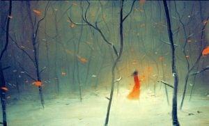 Alleen in het Woud