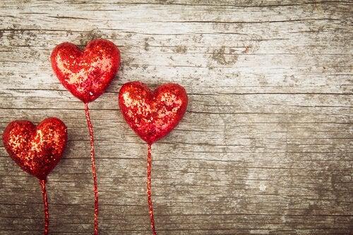 Sternberg's driekhoekstheorie van de liefde