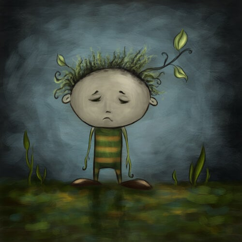Verdrietig Kind