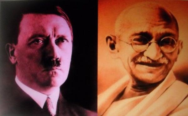 De brief van Gandhi aan Hitler