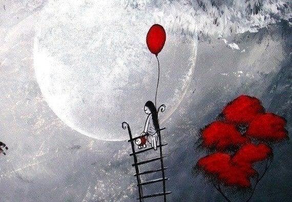 Ladder naar de Maan