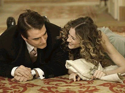 Carrie Bradshaw en Mr. Big