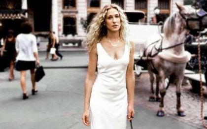 Carrie Bradshaw en Paard