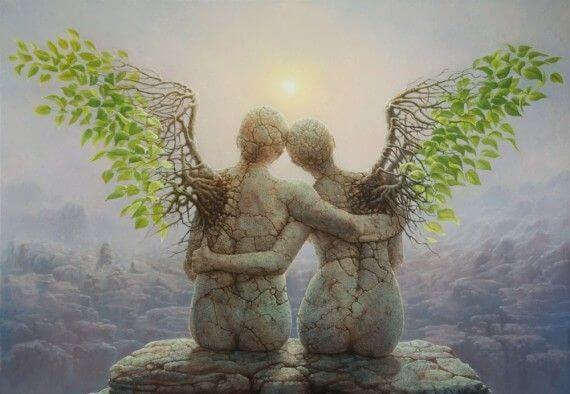 De beste daad voor het hart is om anderen te helpen vliegen