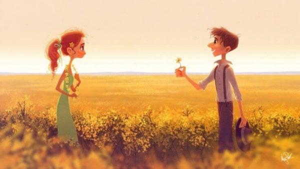 Geluk is het waarderen van de kleine dingen in het leven