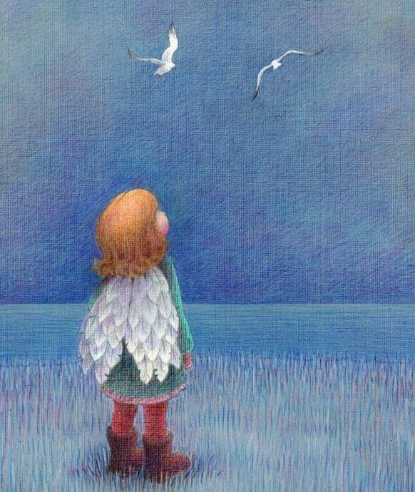 Meisje met Vleugels