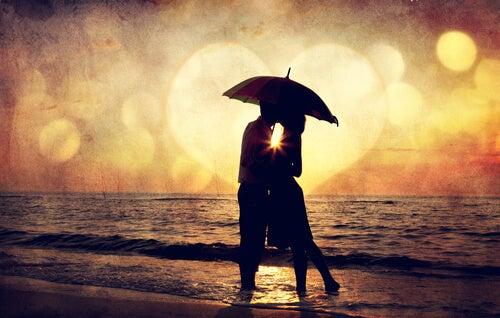 In de liefde moet je dapper zijn