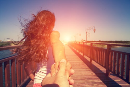 Begin een relatie met echte gesprekken