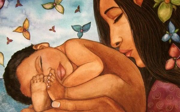 Moeder zijn betekent dat je je hart weggeeft