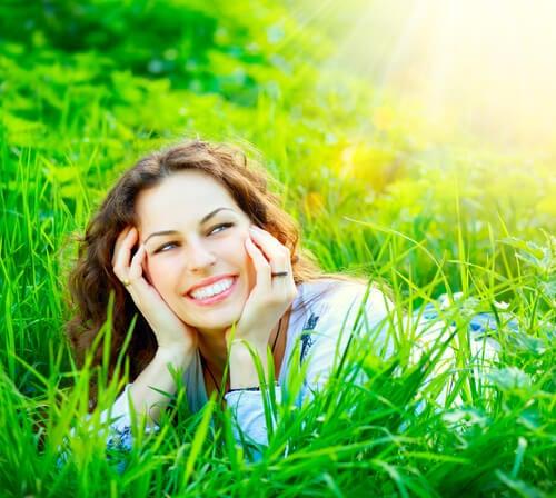 Lachende Vrouw