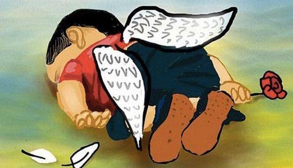 Kind met Engelenvleugels