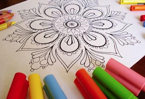 Mandala Kleuren