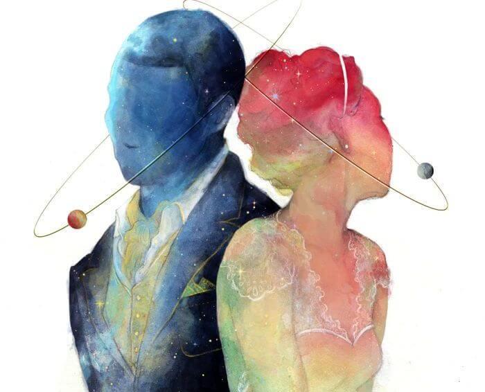 Man en Vrouw zijn afkomstig van verschillende planeten en moeten elkaar niet willen controleren