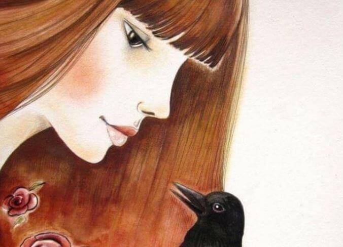 Meisje met Vogel