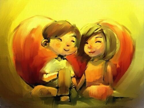 Als je van iemand houdt, dan wil je dat hij gelukkig is