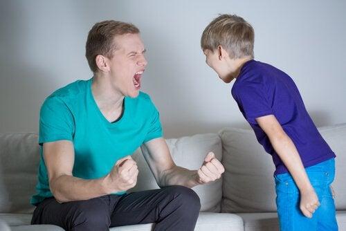 Ruzie tussen Vader en Kind