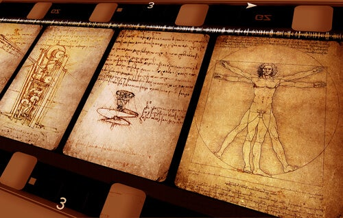 Werk van Da Vinci