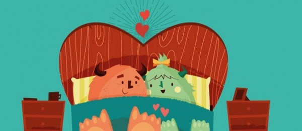 Samen in Bed