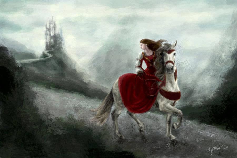 Vrouw op Paard