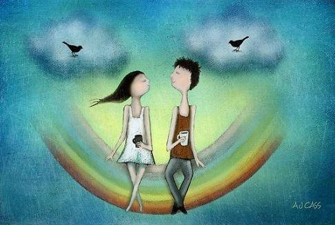 Blijf bij de mensen die van je houden om wie je bent