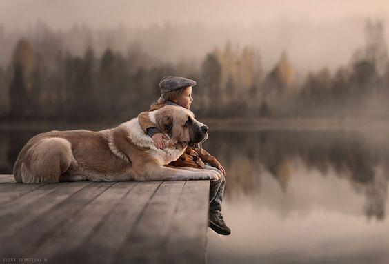 Het belang van opgroeien met een huisdier