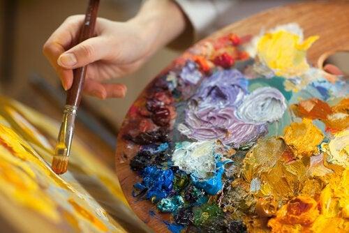 Schilderen: een creatieve therapie