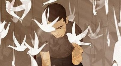 Man met Vogels