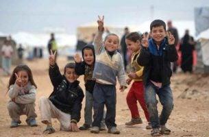 Vluchtelingenkinderen