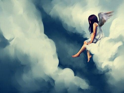 Engel op Wolk