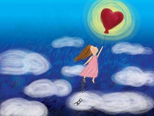 Vliegen met Hartballon