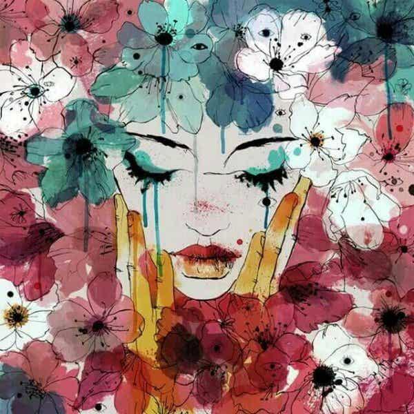 Tranen zijn niets meer dan onze wonden die verdampen