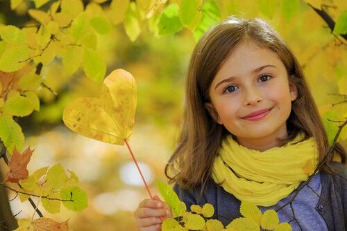 Een vriendelijk kind is een gezond kind