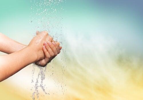 Handen Wassen