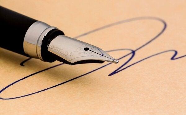 Dit zegt jouw handtekening over jou