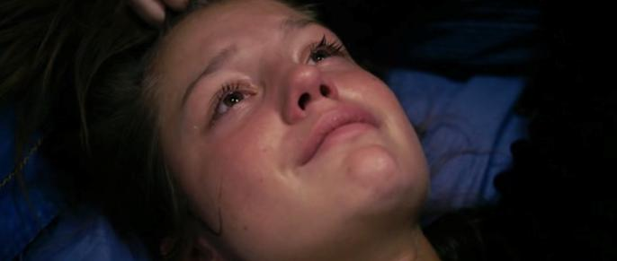 Adele in Tranen