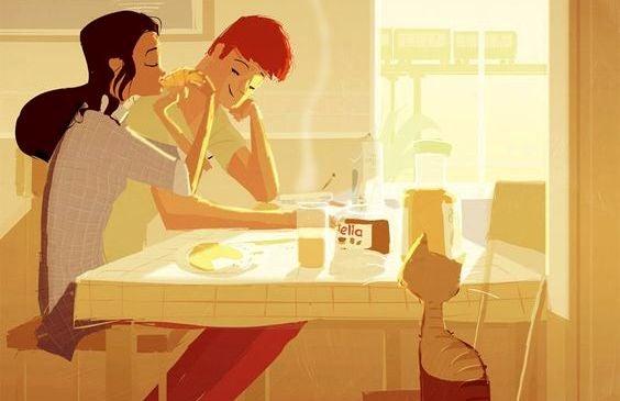 Mijn partner 'helpt' me niet in het huishouden, we werken samen
