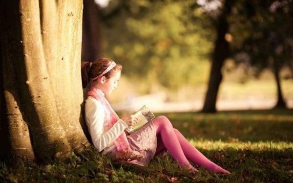 Ouders leren kinderen om te houden van lezen