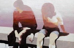 Meisje En Jongen Die Praten Over De Beperkingen In Een Relatie