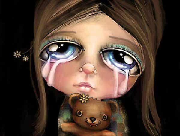 Zeg nooit 'niet huilen' tegen een kind