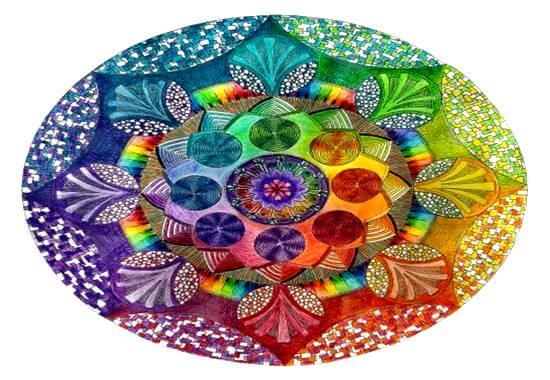 Kleurrijke Mandala