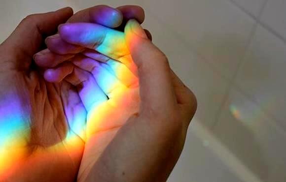 Regenboog Op Handen