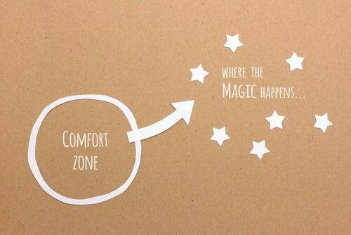Onze comfortzone en wat daar buiten allemaal plaatsvindt