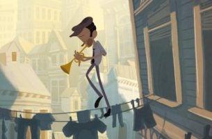Fallin' FLoyd Een Animatiefilm Over Het Bereiken Van Een Dieptepunt