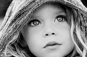 De Ogen Van Een Klein Kindje Want Ogen Spreken Voor Zich