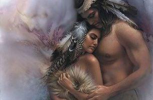 Indianenstel Dat Verliefd Is Ondanks Het Leeftijdsverschil