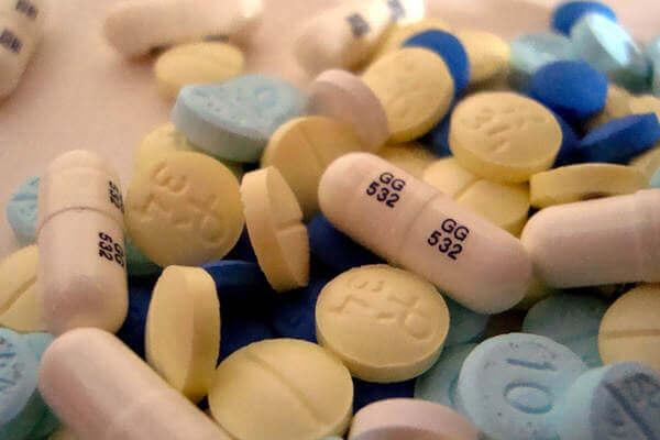 Benzodiazepine pillen