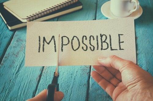 Wat je ook doet, doe het met passie, niets is onmogelijk.