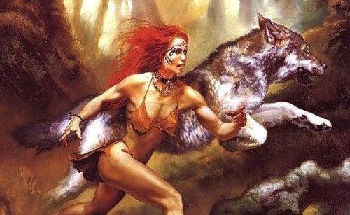 In elke vrouw huist een wolf