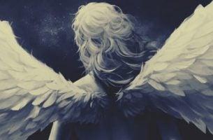 Een meisje met vleugels want niet alleen de tijd vliegt, maar zij ook
