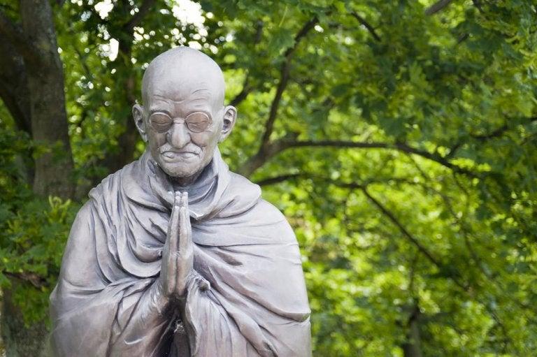 Standbeeld van Gandhi